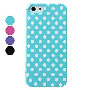 xiao Dot Pattern Detachable Hard Case for iPhone 5/5S (Assorted Colors) , Purple