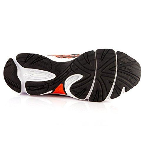 ASICS T41TQ Gel-Ikaia 5, Man Sport Schuhe WHITE/RED ORANGE/BLACK