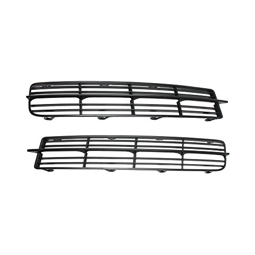 Bumper Grille for 2004-2006 Acura TL Set of 2 Plastic Paint to Match Left and Right Side ()