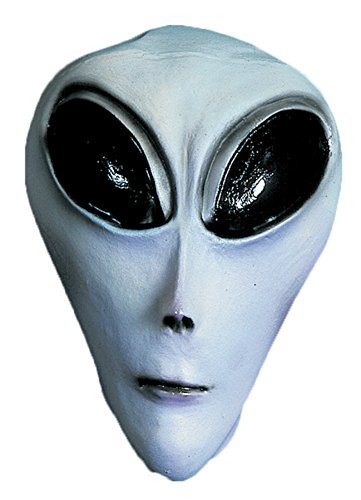 Ufo Grey Alien Roswell Area 51 Adult Halloween Costume Mask -