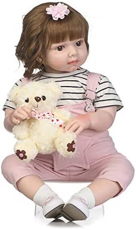 97585dd73055 0 bình luận. Từ Mỹ. YIHANGG Reborn Toddler 27 Inches 70cm Realistic  Handmade Newborn Silicone Baby Doll Lifelike ...