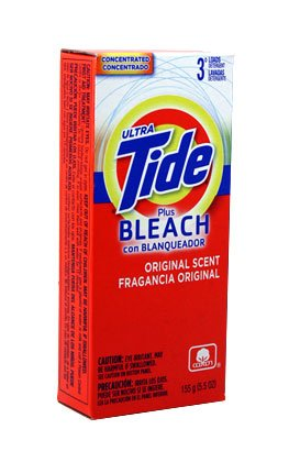 Tide Powder w/Bleach - 3 Loads 14/5.5 oz. by