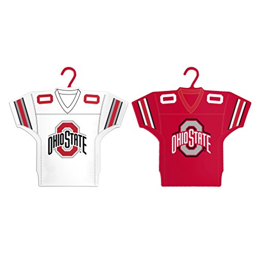 - Boelter Brands NCAA Ohio State Buckeyes Home & Away Jersey Ornament, 2-Pack