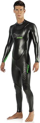 Cressi Triton, Schwimmanzug Herren Neopren, Triathlonanzug 1.5mm