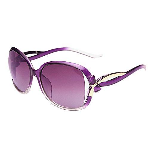 FUNOC Womens Ladies Retro Vintage Bow Bowknot Shades Eyewear Designer Sunglasses