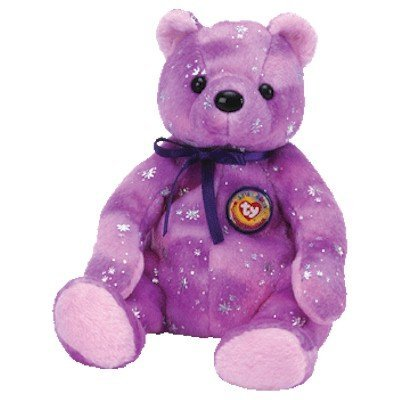 c4d51831a7b Image Unavailable. Image not available for. Color  Ty Beanie Babies Clubby  VI - Purple