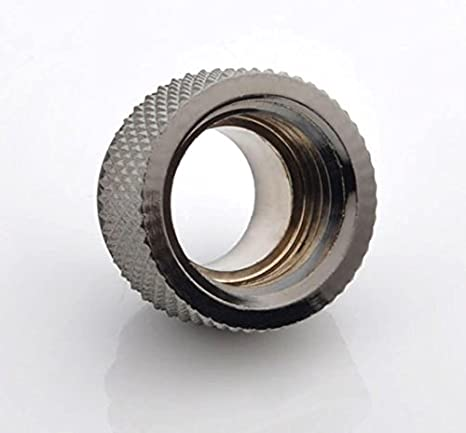 7.5mm Black Sparkle Bitspower G1//4 Male to Female Extender Fitting