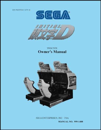 Initial D: Arcade Stage Arcade Game Service & Repair Manual