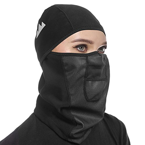 New Wind-resistant Hinged Balaclava Face Mask Cold Weather Outdoors Motorcycle Masks with Soft Fleece Construction