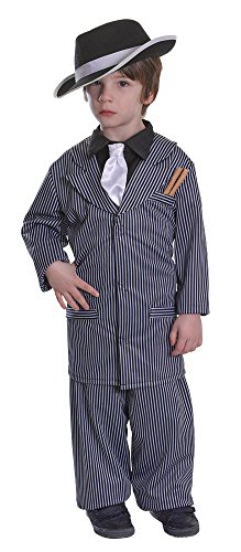 Mafia/godfather Costumes (Large Boy's Gangster Costume)