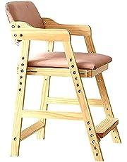 WANGFENG Regulowane nowoczesne krzesła do jadalni, krzesło kuchenne z ergonomicznym oparciem i metalowymi nogami Wysokość: 40-55 cm drewniane krzesła do jadalni salonu sypialni kuchni