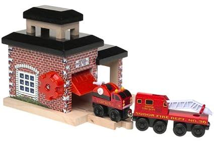 Thomas Friends Wooden Railway Fire Station