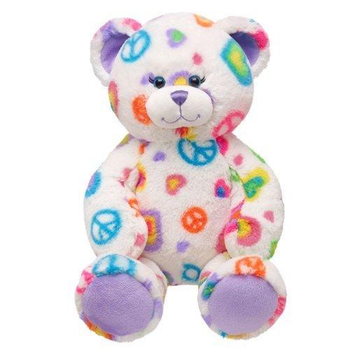 Build-a-Bear Workshop Peace & Love Teddy Bear, 17 in.
