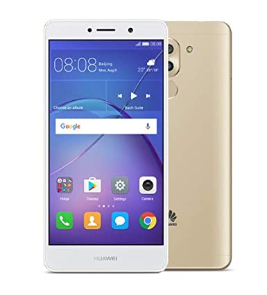 3208fafbd Huawei GR5 2017 Dual Sim - 32GB, 3GB RAM, 4G LTE, Gold: Amazon.ae