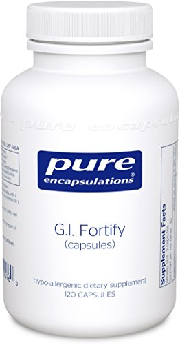 Pure Encapsulations - G.I. Fortify (Capsules) - Supports G.I. Function, Motility and Detoxification* - 120 Capsules - Clearly Fiber Powder