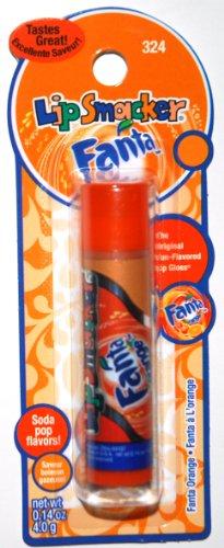 Lip Smacker Soda Pop Flavors, Fanta Orange Flavored Lip Gloss (1 Each)