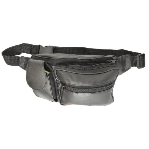 Leather Fanny Pack With Cell Case