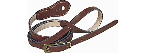 Levys Deluxe Leather Mandolin Strap product image