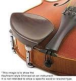 Kaufman 3/4 Violin Chinrest - Ebony with Standard Bracket