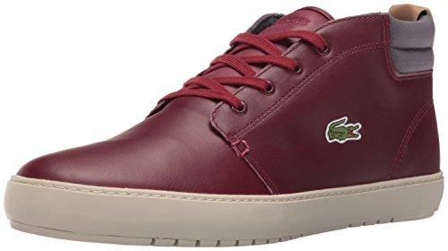 Lacoste Hommes Ampthill Terra 416 1 Spm Mode Sneaker Rouge Foncé