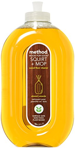 Method Squirt & Mop Wood Floor Cleaner - Almond - 25 oz - 2 pk (Dirty Squirt)