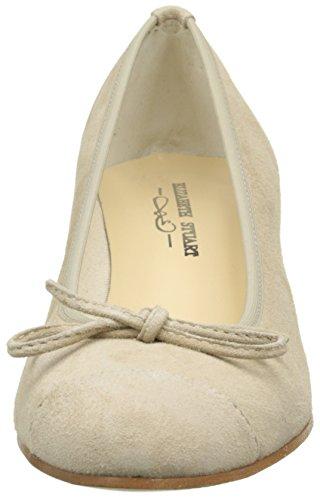 Elizabeth Stuart Nieto 300 - Zapatos de vestir Mujer Beige