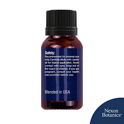 Aromatherapy Essential Oil Synergy Blend Set - 100% Pure & Natural Undiluted Therapeutic Grade Blends Include Breathe Ease, Health Plus, Zen Head, Muscle Ease, Zen Sleep, Immune Boost Oils 6 x 10 ml by Nexon Botanics (Image #7)