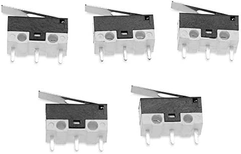5Pcs 3Dprinter Endschalter Schlagschalter Mikroschalter Sensitive Schalter Smart-Auto-Roboter Zubehör Gaodpz