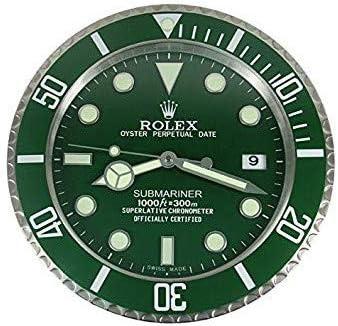 Rolex Rolex GMT 2 Batman - Reloj de Pared (Bisel Negro Azul), diseño de Batman