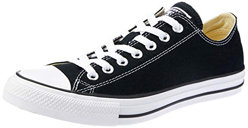 Converse Unisex Chuck Taylor All Star Low Top Black Sneakers - 11.5 B(M US Women / 9.5 D(M) US Men (Best Converse For Guys)