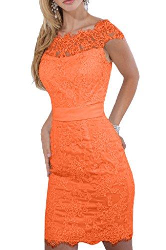 Promgirl House - Robe - Crayon - Femme -  Orange - 36