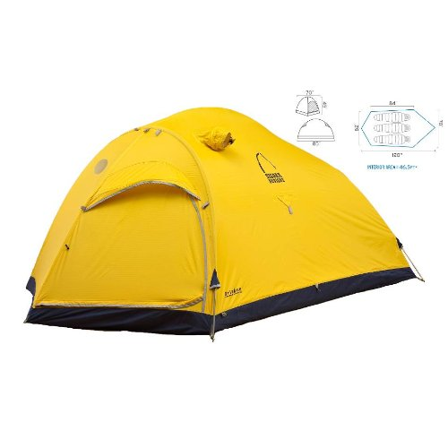 Sierra Designs Convert 3 Single Wall Mountaineering Tent (3 Person), Outdoor Stuffs