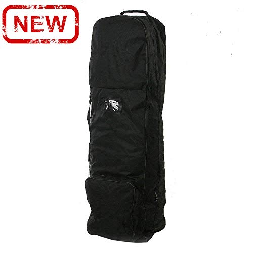 loofeng Golf Travel Bag with Wheels, Lightweight Golf Travel Bags for Airlines 1680D Nylon Cover Wear-Resistant Case