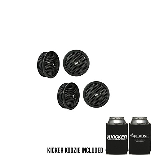 "KICKER KST2004 KST200 .75"" tweeters with x-Overs 4-Ohm Bundle"