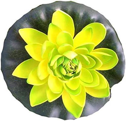 Seerose 22 cm groß künstliche Blumen sehr original wie echt Deko Teichrose