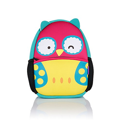 Castle Story Toddler Insulated and Water-Resistant Neoprene Lunch Bag kids,Reusable Waterproof Children's Backpack for school,Lunch Box Container with Adjustable Strap and Mesh Pocket for Bottle (Halloween Lunch For School)