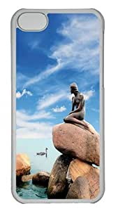 CSKFUphone iphone 6 4.7 inch iphone 6 4.7 inch Case & Cover - Little Mermaid Statue Copenhagen Denmark PC Plastics Case Back Cover for iphone 6 4.7 inch iphone 6 4.7 inch Transparent