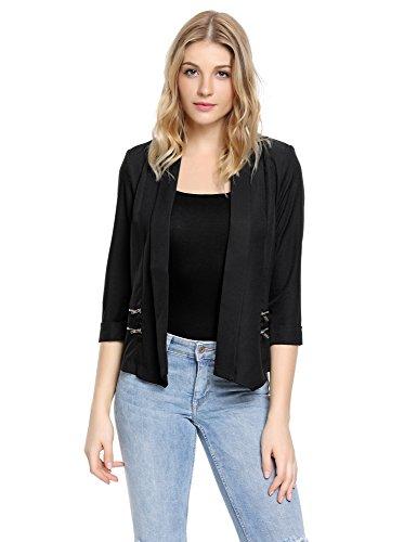 Zip Jacket Blazer - 3