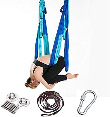 Aérea Swing Set Yoga, Yoga Hamaca Columpio/Trapecio Yoga Kit ...