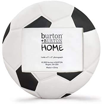 Amazon.com - Soccer Ball (Football) Shaped Picture Frame - Perfect ...