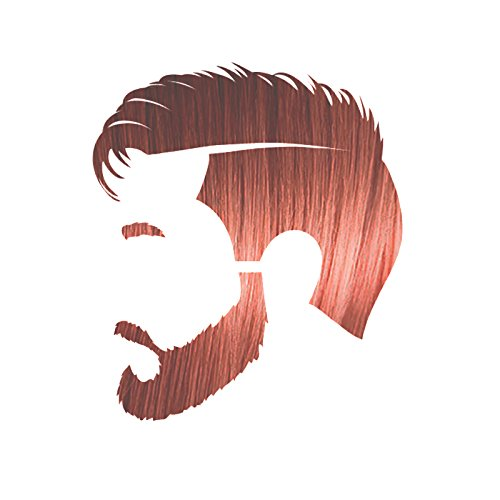 Manly Guy LIGHT RED Hair, Beard, & Mustache Color: 100% Natural & Chemical Free MGLightRed