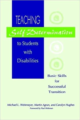 Opening Doors to Self-Determination Skills - The Special Education ...
