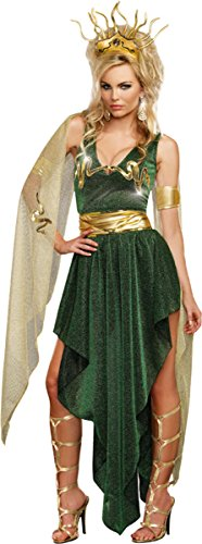 Snake Goddess Costume (Medusa Adult Costume - Small)