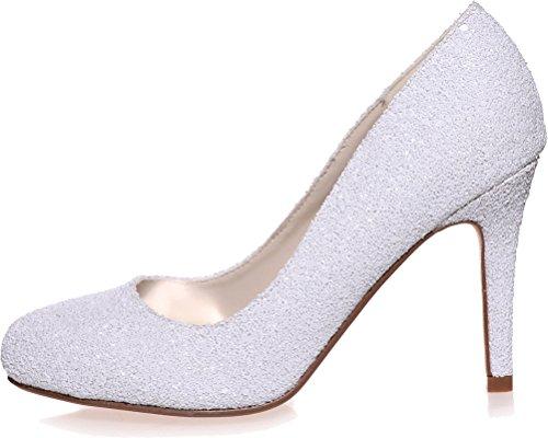 Sandales Compensées 5 Blanc EU Femme Blanc Find 36 Nice 5wqpEWZ