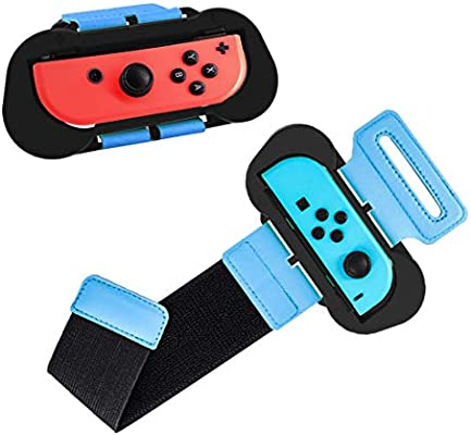 Brazalete de Baile para Just Dance 2019/2020 JoyCon Grip Compatible con Nintendo Switch Controller Cuff: Amazon.es: Electrónica