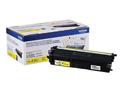 Brother TN-436 Super High Yield Toner Cartridge Set (6,500 Yield)