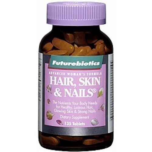 Futurebiotics Hair, Skin & Nails, Tablets 75 ea (Pack of 2)