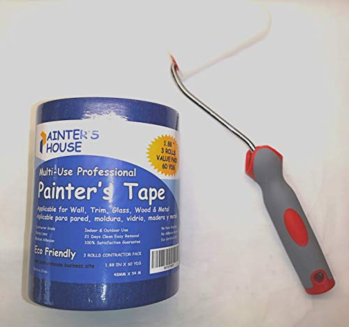 Painter S Tape Blue Painters Tape 2 Inch 3 Pack 1 88 X 60