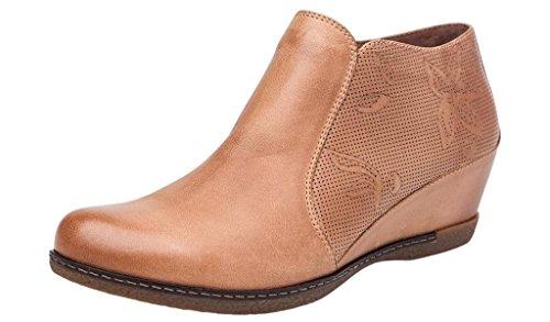 Dansko Women's Luann Boot Taupe Burnished Nubuck Size 38 EU (7.5-8 M US Women) by Dansko