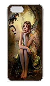 Her Secret Fairy PC Case Cover for iPhone 5 and iPhone 5s Transparent